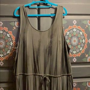 torrid Other - Khaki Green Tye Dye Jumpsuit